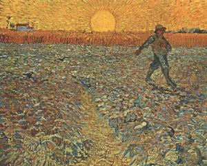 seminatore di grano.45x60